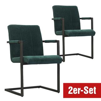 BREAZZ Stuhl Chairactor 2er Set grün