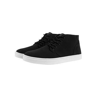 URBAN CLASSICS Sneaker Hibi Mid schwarz/weiß