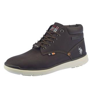 U.S. POLO ASSN. Sneaker Vikingo dunkelbraun