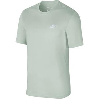 Nike T-Shirt Klassik Mint/Weiß