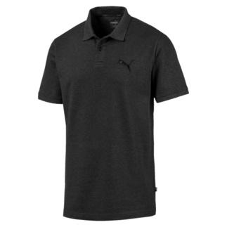 Puma Polo Shirt Pique ESS Dunkelgrau