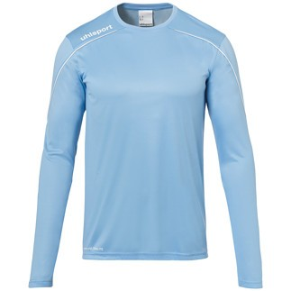 uhlsport Trainingsshirt Langarm Stream 22 skyblau/weiß
