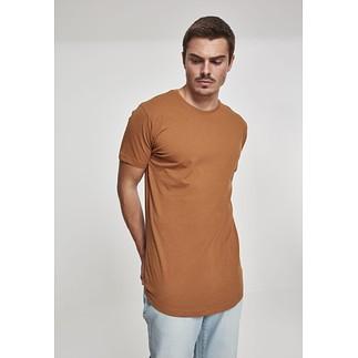 URBAN CLASSICS T-Shirt Shaped Long toffee