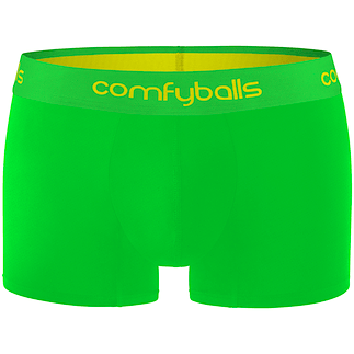 comfyballs Boxershorts Viper Green Performance Superlight neongrün