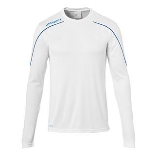 uhlsport Trainingsshirt Langarm Stream 22 weiß/azurblau