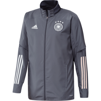 Adidas Deutschland DFB Präsentationsjacke EM 2021 Dunkelgrau