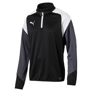 Puma Trainingstop 1/4 Zip Team Schwarz/Weiß