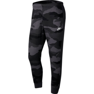 Nike Jogginghose Club Fleece Camo Anthrazit