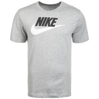 Nike T-Shirt Icon Futura grau/schwarz