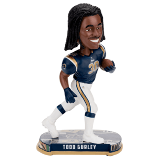 Forever Collectibles Los Angeles Rams Bobblehead Todd Gurley blau/weiß