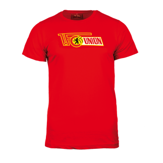 1. FC Union Berlin T-Shirt Logo rot