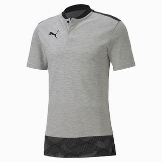 Puma Shirt Casual Knopfleiste Team FINAL 21 Grau