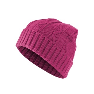 MasterDis Beanie Cable Flap Pink