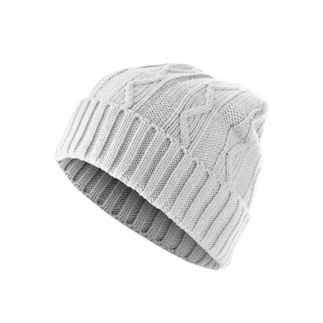 MasterDis Beanie Cable Flap Weiß