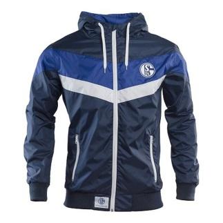 FC Schalke 04 Windbreaker marine/weiß