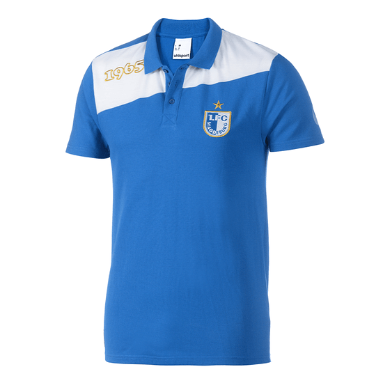 uhlsport 1. FC Magdeburg Poloshirt Team blau/weiß