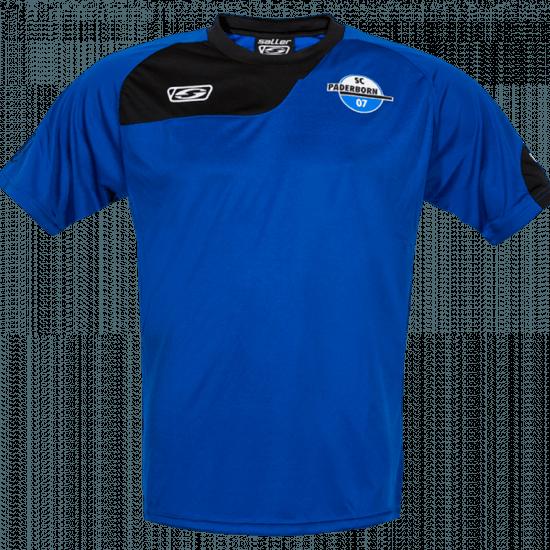 SC Paderborn 07 Trainingsshirt SCP 07 blau/schwarz