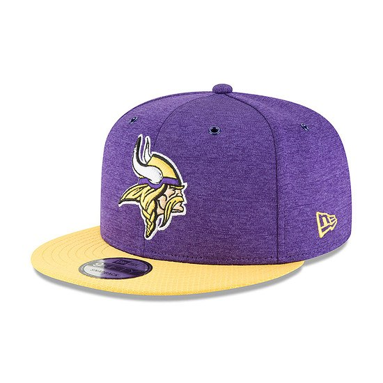 New Era Minnesota Vikings Cap 9FIFTY Sideline 2018 lila