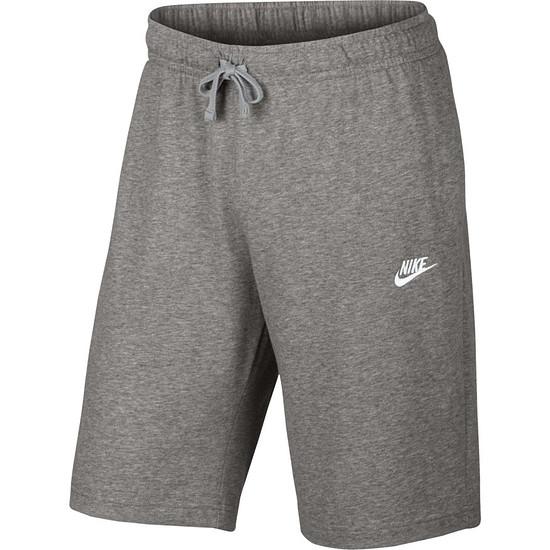 Nike Shorts Sportswear grau/weiß