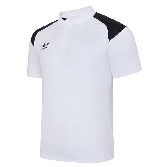 Umbro Poloshirt Poly S20 Weiß
