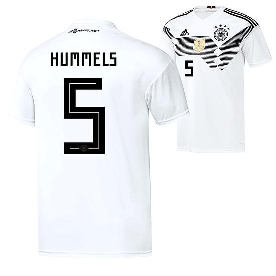 Adidas Deutschland WM 2018 DFB Trikot Heim HUMMELS Kinder
