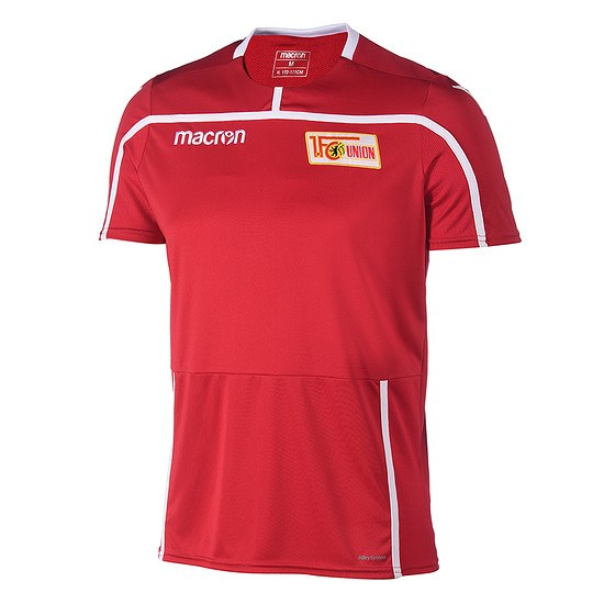 Macron 1. FC Union Berlin Trainingsshirt Team rot/weiß