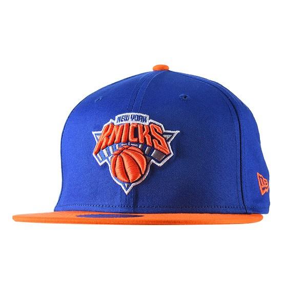 New Era New York Knicks Cap Team 9FIFTY blau/orange