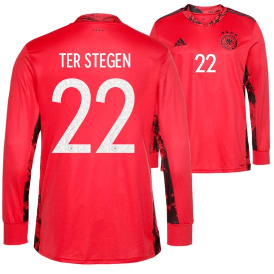 Adidas Deutschland EM 2021 DFB Torwarttrikot ter Stegen Kinder