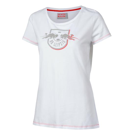 RB Leipzig T-Shirt Red Shadow Damen weiß