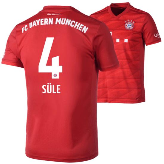 Adidas FC Bayern München Heim Trikot SÜLE 2019/2020