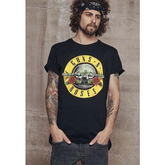 Mister Tee T-Shirt Guns n' Roses Logo schwarz
