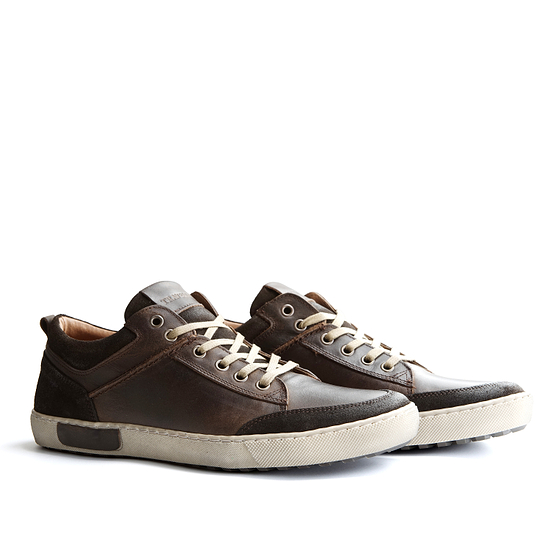TRAVELIN OUTDOOR Sneaker Aberdeen Low dunkelbraun