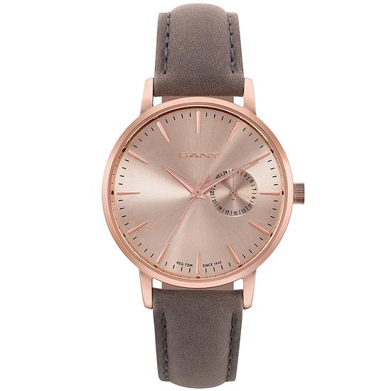Gant Damen Uhr Park Hill II Midsize silber/grau/rosegold