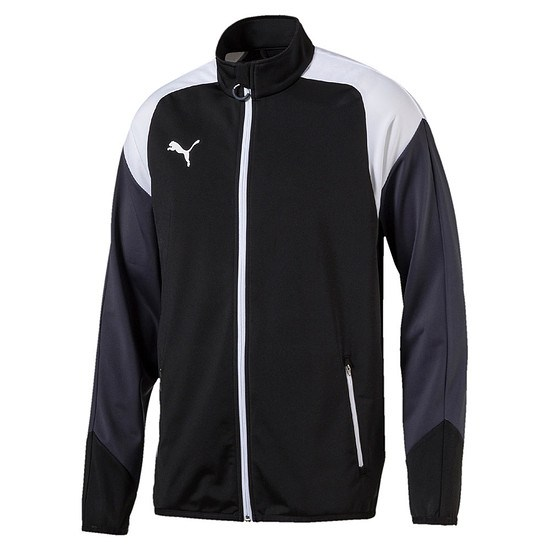 Puma Trainingsjacke Team Schwarz/Weiß