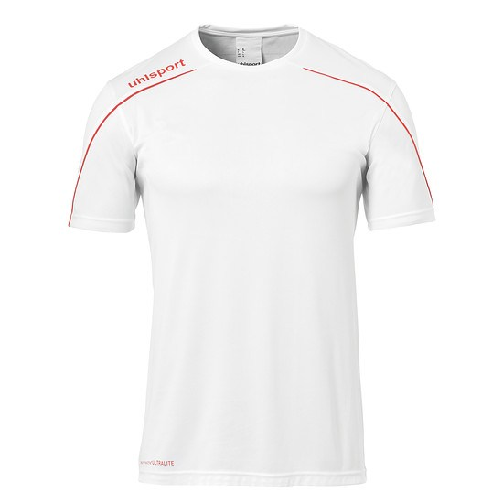 uhlsport Trainingsshirt Stream 22 weiß/rot