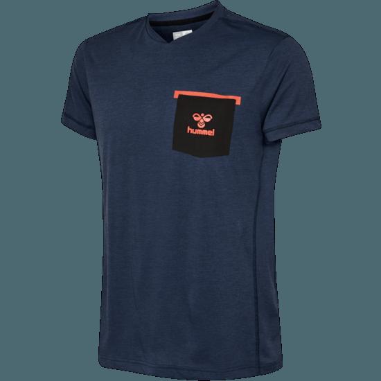 hummel T-Shirt Bora blau