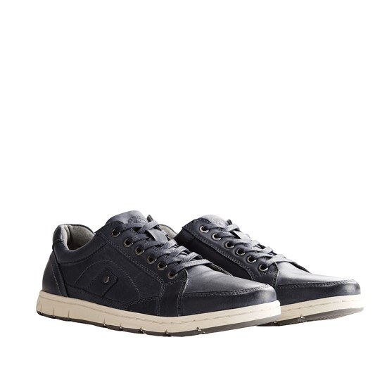 TRAVELIN OUTDOOR Sneaker Irvine blau