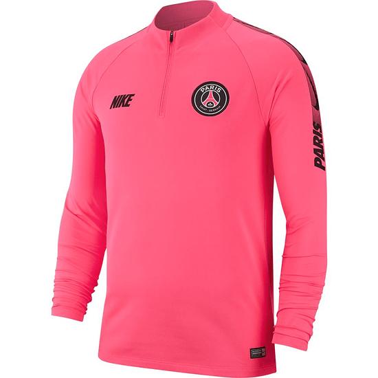 Nike Paris Saint-Germain Trainingsshirt Langarm Pink