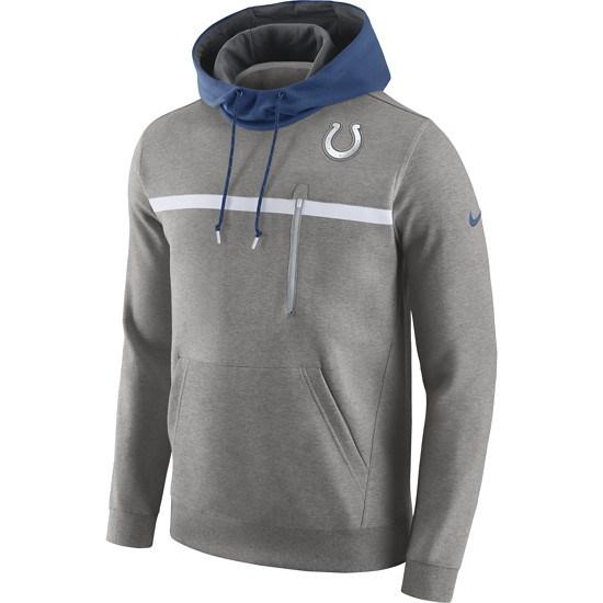 Nike Indianapolis Colts Hoodie Champ Drive Grau