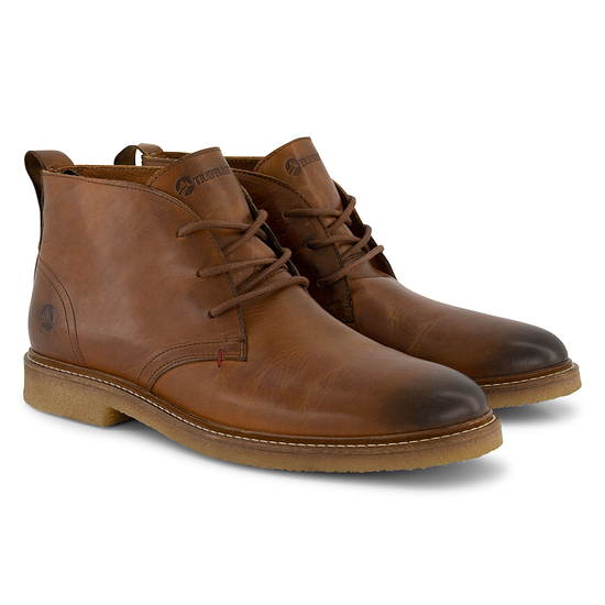 TRAVELIN OUTDOOR Boot Glasgow Leather cognac