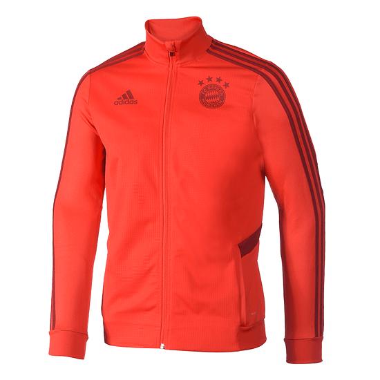 Adidas FC Bayern München Trainingsjacke 2019/2020 Kinder Rot