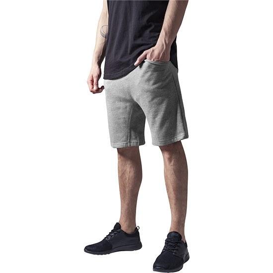 URBAN CLASSICS Shorts Light Deep Crotch Grau