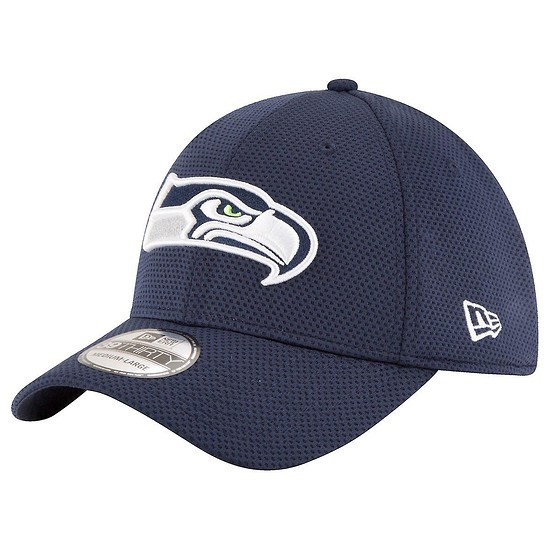 New Era Seattle Seahawks Cap 39THIRTY Sideline Tech blau