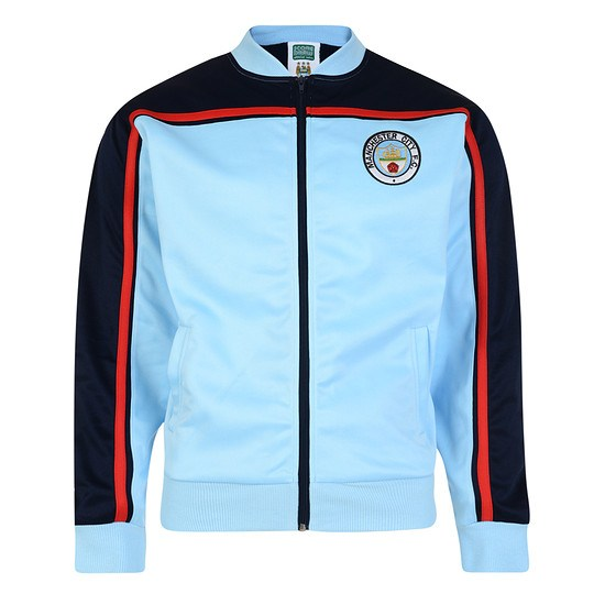 Scoredraw Manchester City Retro Trainingsjacke 1982