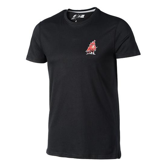 New Era Tampa Bay Buccaneers T-Shirt Helmet Logo schwarz