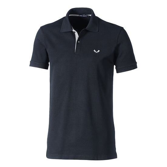 Cotton Butcher Poloshirt Tennessee Pique schwarz