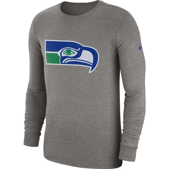 Nike Seattle Seahawks Langarm Shirt HISTORIC Dunkelgrau