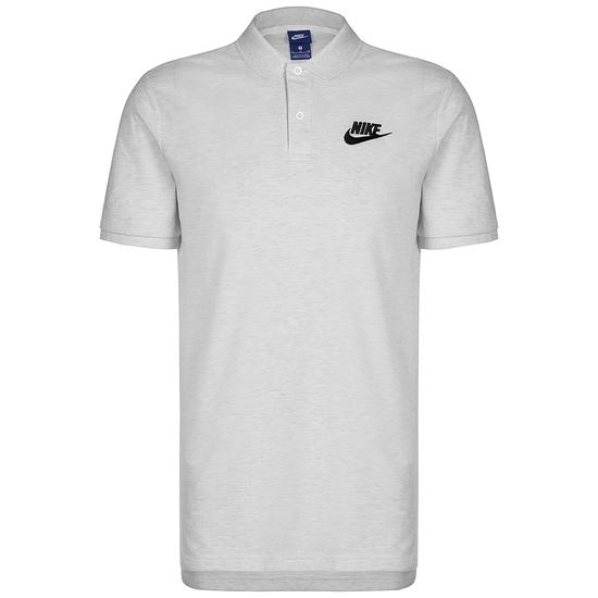 Nike Poloshirt Sportswear Basic grauschwarz