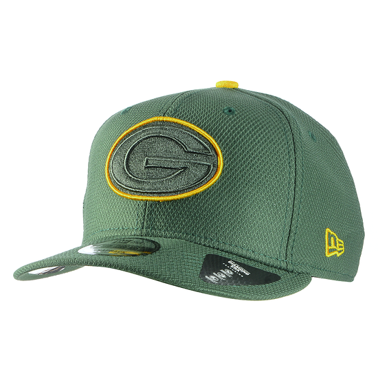 New Era Green Bay Packers Cap Team Outline 9FIFTY grün