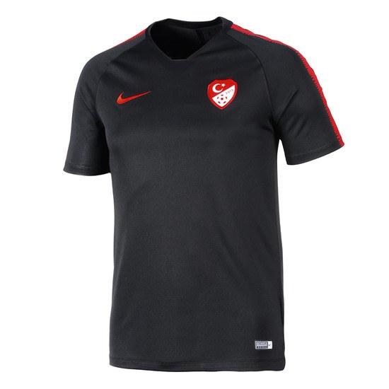 Nike Türkei T-Shirt Training Schwarz
